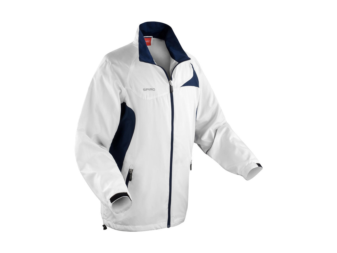 Result Unisex Micro Lite Team Jacket, White/Navy, S bedrucken, Art.-Nr. 028330523