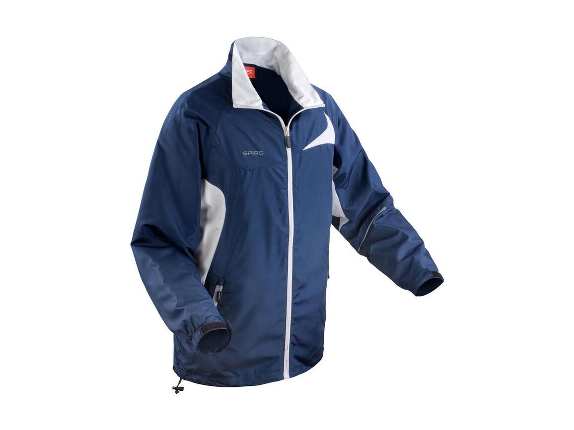 Result Unisex Micro Lite Team Jacket, Navy/White, XL bedrucken, Art.-Nr. 028332526