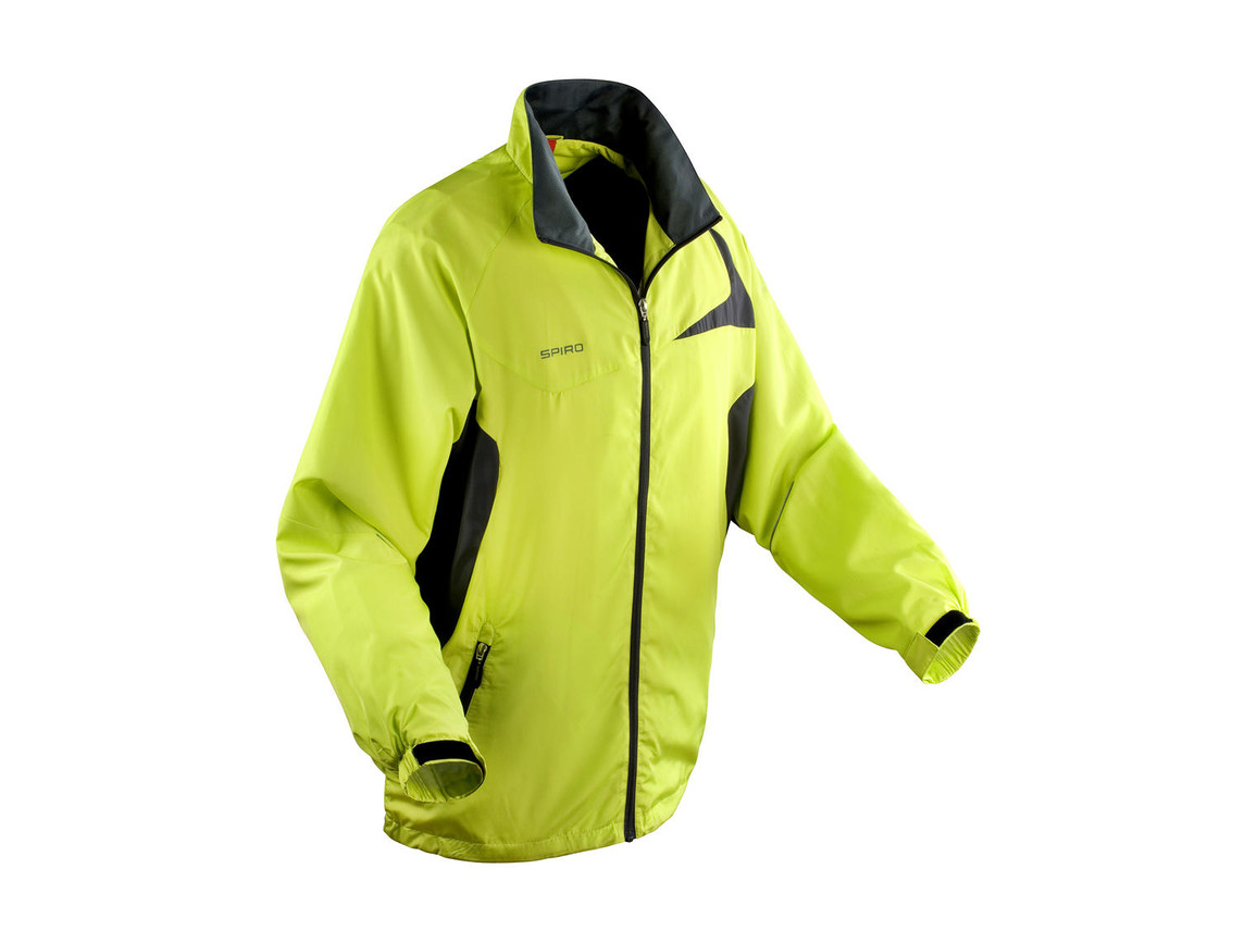 Result Unisex Micro Lite Team Jacket, Lime/Grey, 3XL bedrucken, Art.-Nr. 028335558