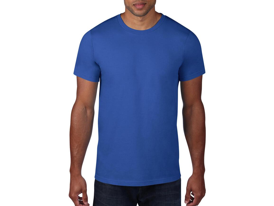 Anvil Adult Fashion Basic Tee, Royal Blue, M bedrucken, Art.-Nr. 115083004