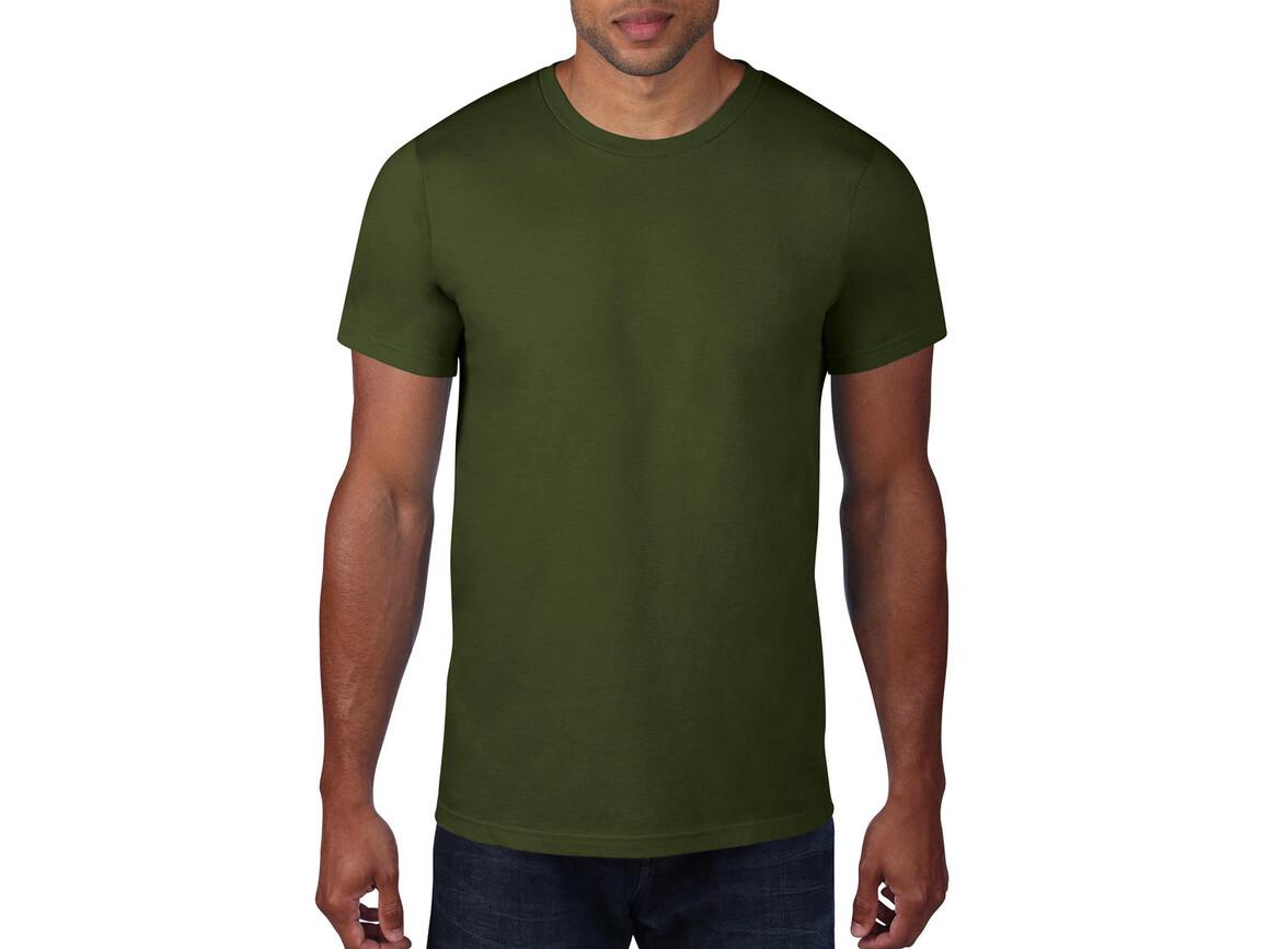 Anvil Adult Fashion Basic Tee, City Green, XL bedrucken, Art.-Nr. 115085086