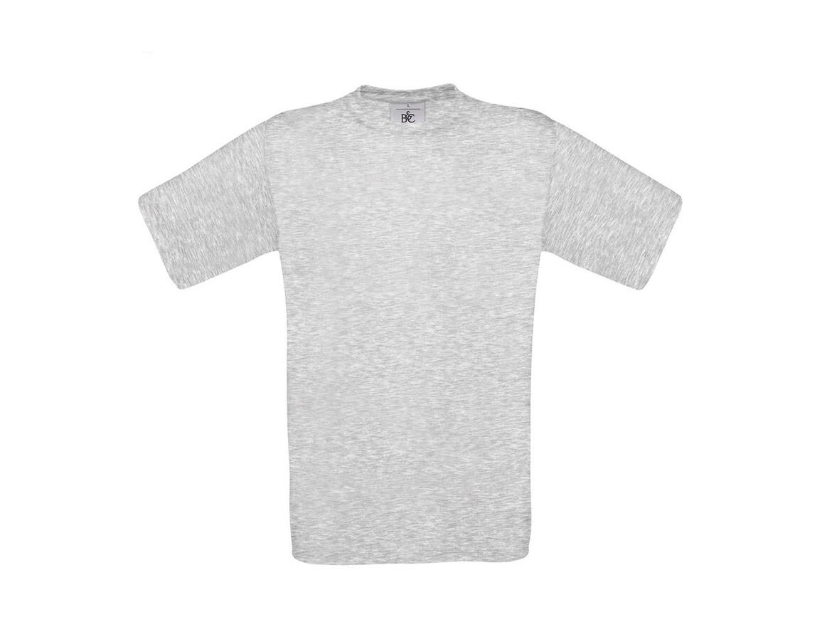 B & C Exact 150 T-Shirt, Ash, XS bedrucken, Art.-Nr. 150427032