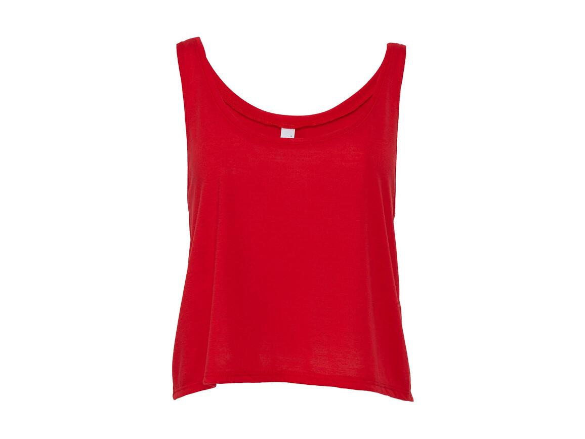 Bella Flowy Boxy Tank Top, Red, M bedrucken, Art.-Nr. 162064004