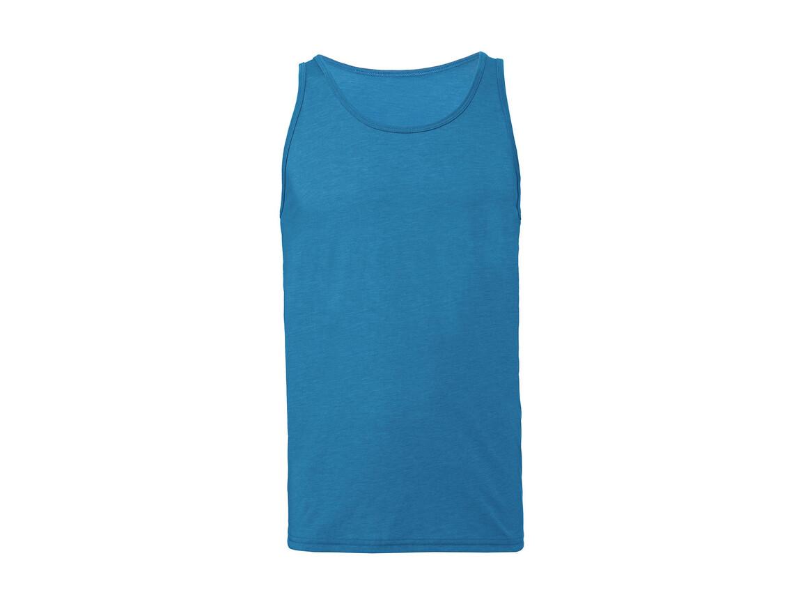Bella Unisex Jersey Tank, Neon Blue, XL bedrucken, Art.-Nr. 175063066