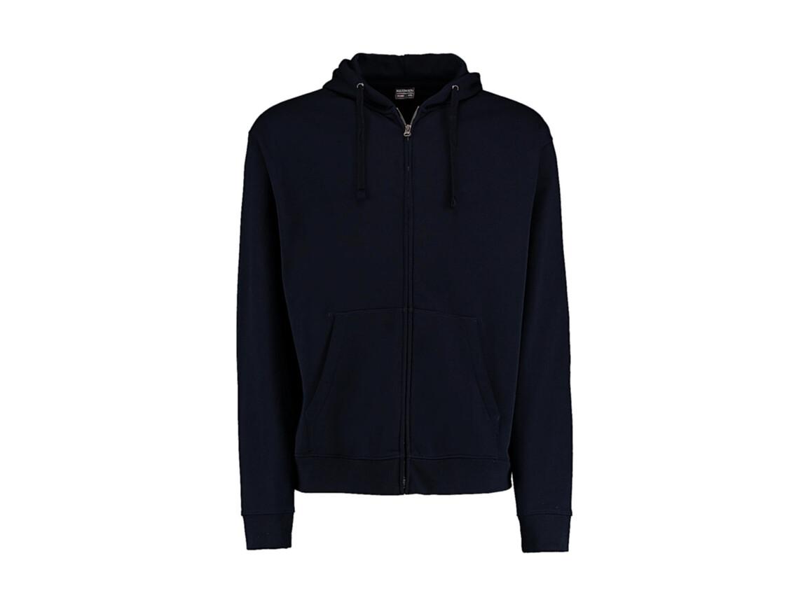 Kustom Kit Regular Fit Zipped Hoodie Superwash® 60º, Navy, 3XL bedrucken, Art.-Nr. 203112008