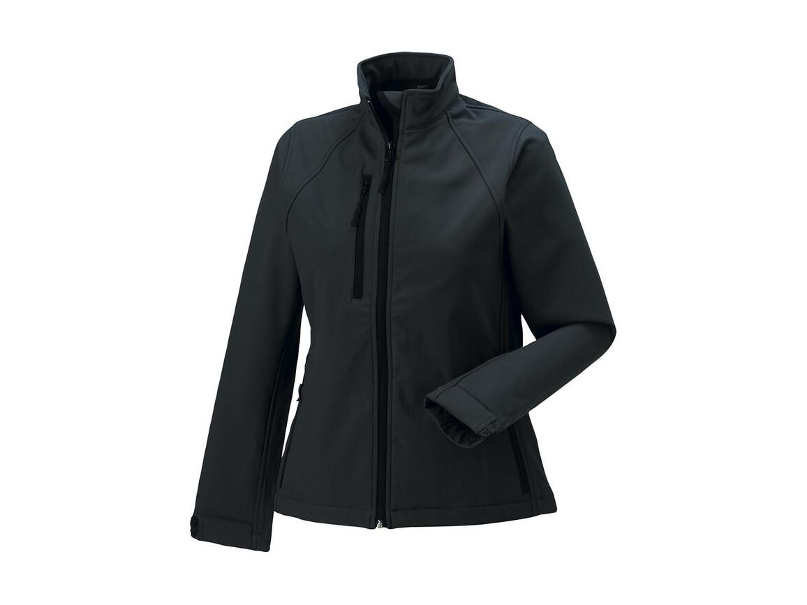 Russell Europe Ladies` Softshell Jacket, Titanium, M (38) bedrucken, Art.-Nr. 462001394