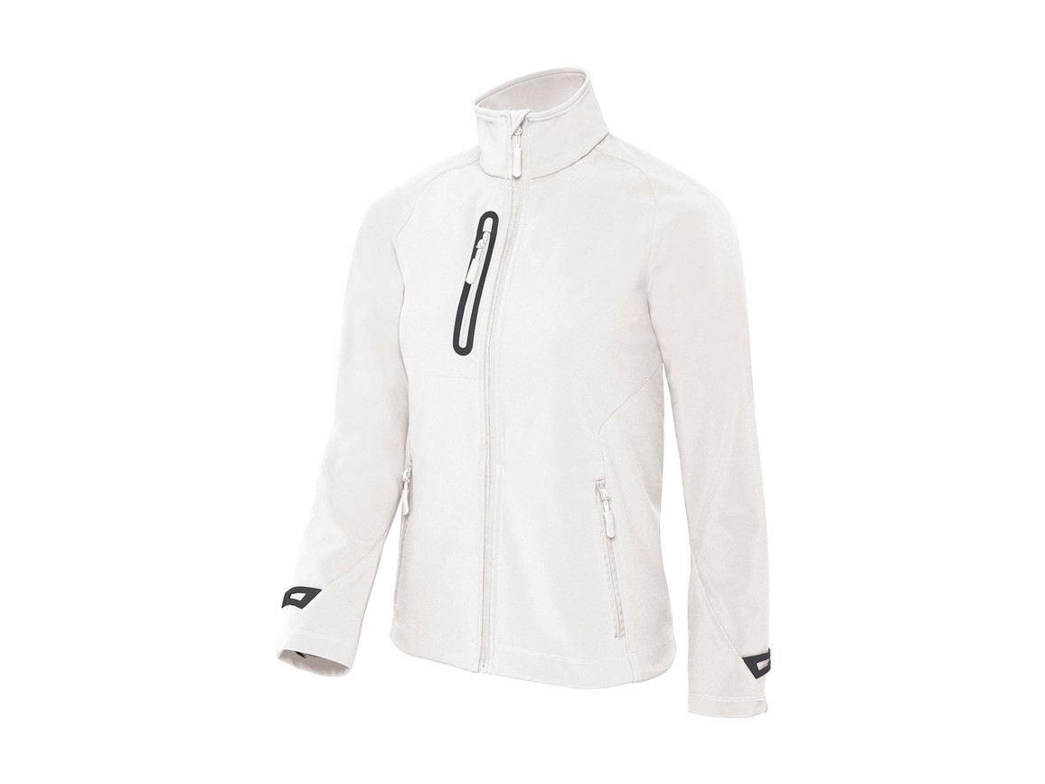 B & C X-Lite Softshell/women Jacket, White, XS bedrucken, Art.-Nr. 464420002
