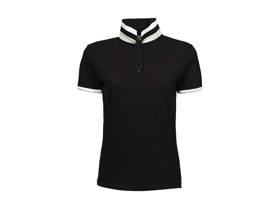 Tee Jays Ladies` Club Polo, Black, S bedrucken, Art.-Nr. 503541013