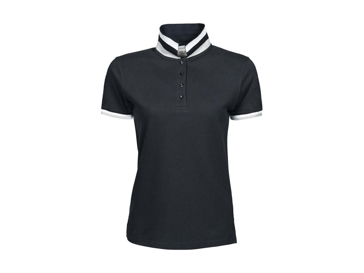 Tee Jays Ladies` Club Polo, Dark Grey, XL bedrucken, Art.-Nr. 503541286