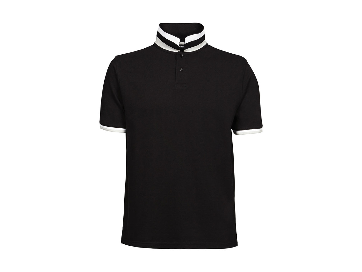 Tee Jays Club Polo, Black, M bedrucken, Art.-Nr. 504541014