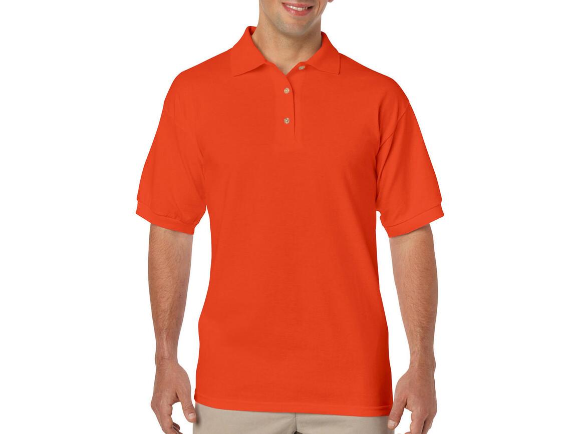 Gildan DryBlend Adult Jersey Polo, Orange, S bedrucken, Art.-Nr. 520094103