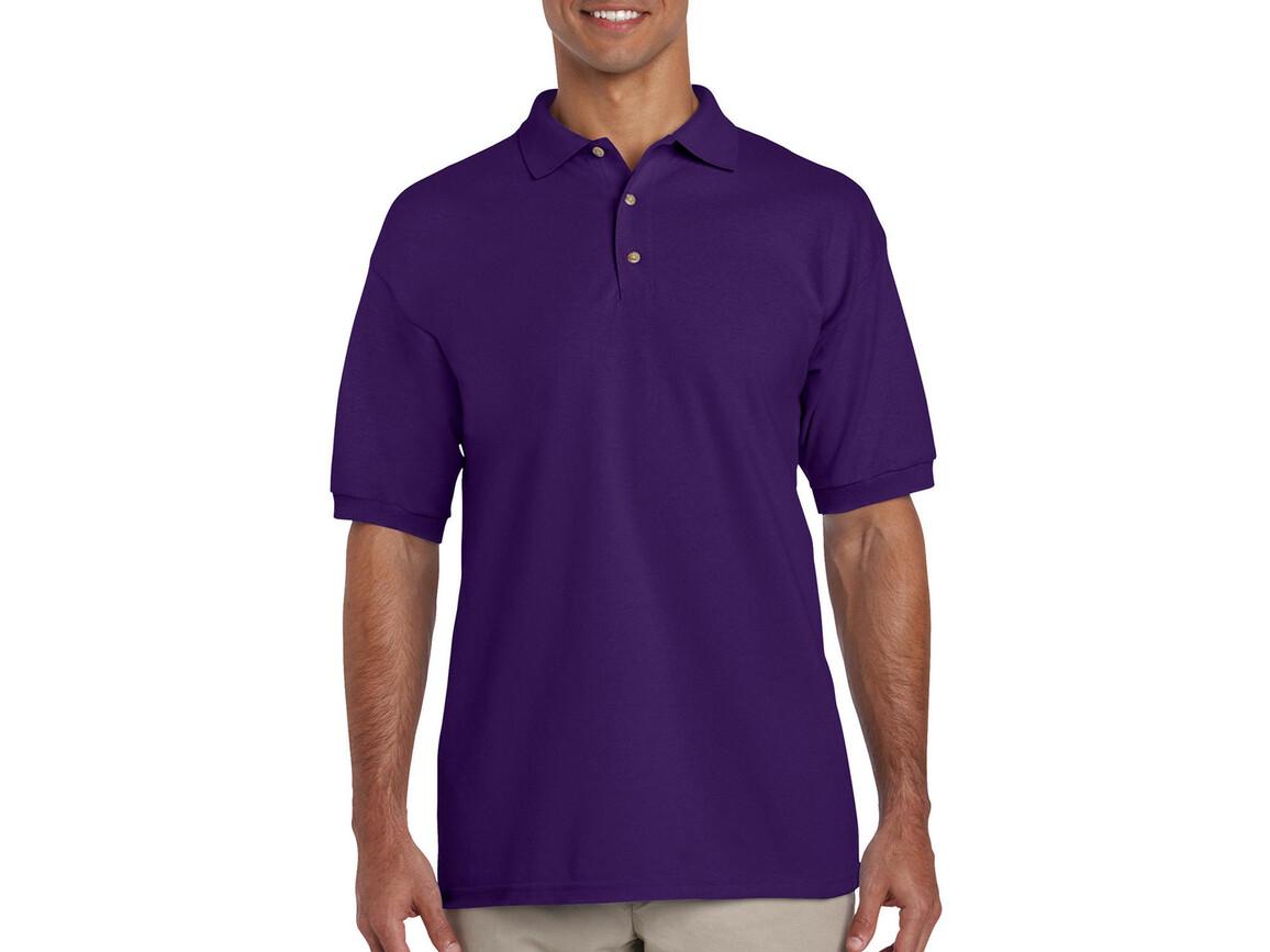 Gildan Ultra Cotton Adult Piqué Polo, Purple, XL bedrucken, Art.-Nr. 563093496