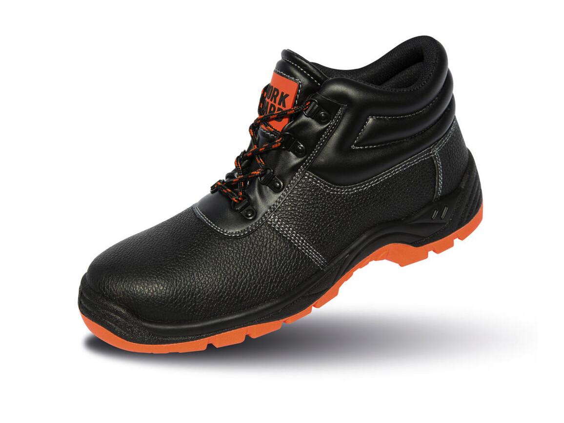 Result Defence Safety Boot, Black/Orange, 8 (42) bedrucken, Art.-Nr. 983331783
