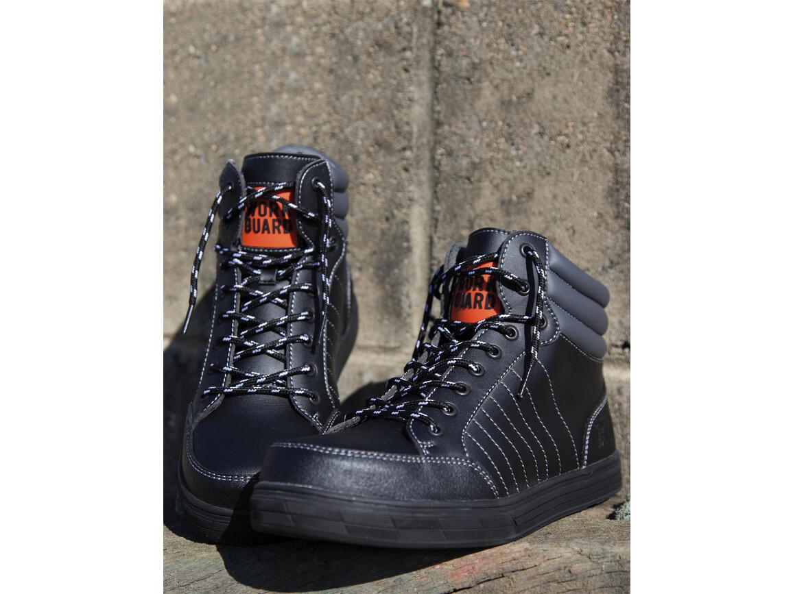 Result Stealth Safety Boot, Black, 10 (44.5) bedrucken, Art.-Nr. 984331015