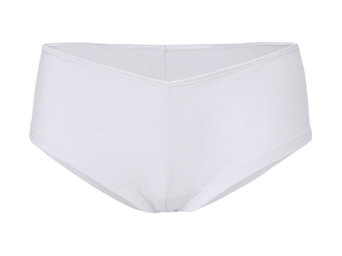 Bella Cotton Stretch Shortie, White, XL bedrucken, Art.-Nr. 990060006