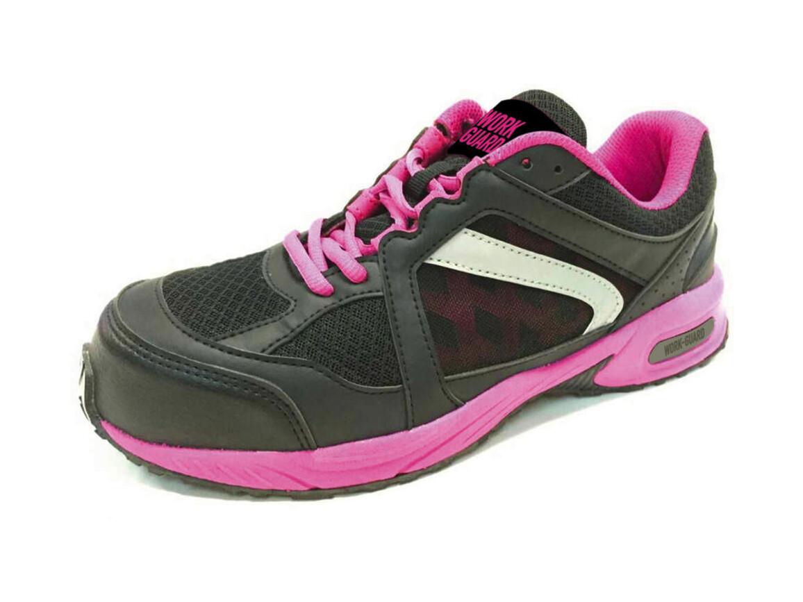 Result Women`s Safety Trainer, Pink/Black, 4 (37) bedrucken, Art.-Nr. 993334741