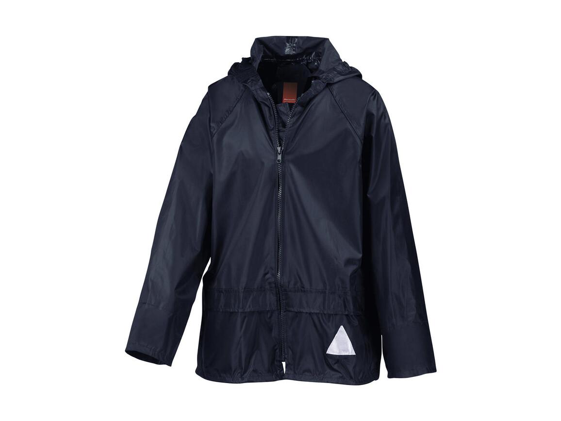 Result Kids Schlechtwetter-Anzug, Navy, S (5-6/116) bedrucken, Art.-Nr. 998332004
