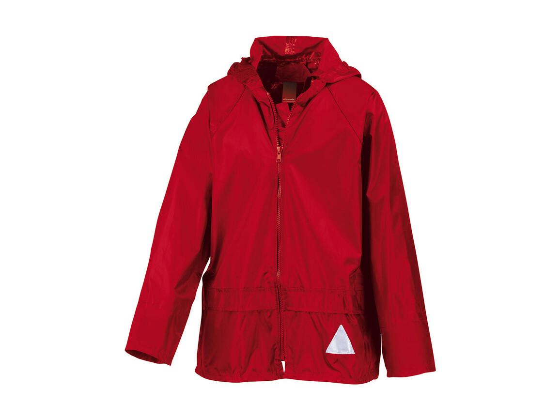 Result Kids Schlechtwetter-Anzug, Red, S (5-6/116) bedrucken, Art.-Nr. 998334004