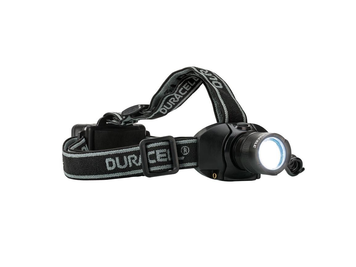 Kopflampe DURACELL-EXPLORER™ bedrucken, Art.-Nr. HDL-2CW