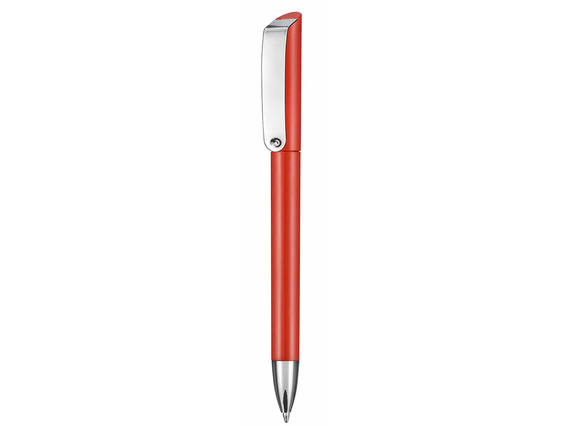 Kugelschreiber GLOSSY–signal-rot bedrucken, Art.-Nr. 00086_0601