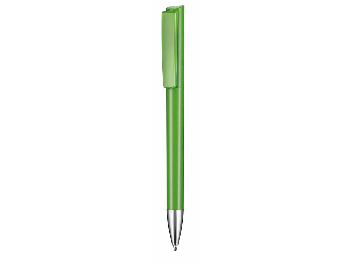 Kugelschreiber GLORY–Apfel-grün bedrucken, Art.-Nr. 00123_4076