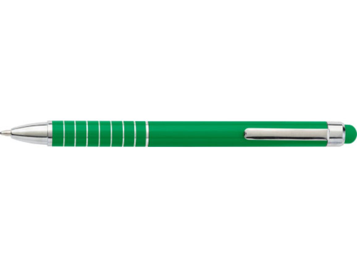 Kugelschreiber 'Speedtouch' aus Metall – Hellgrün bedrucken, Art.-Nr. 029999999_0647