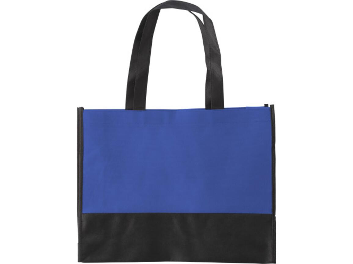 Einkaufstasche 'St. Gallen' aus Non-Woven – Kobaltblau bedrucken, Art.-Nr. 023999999_0971