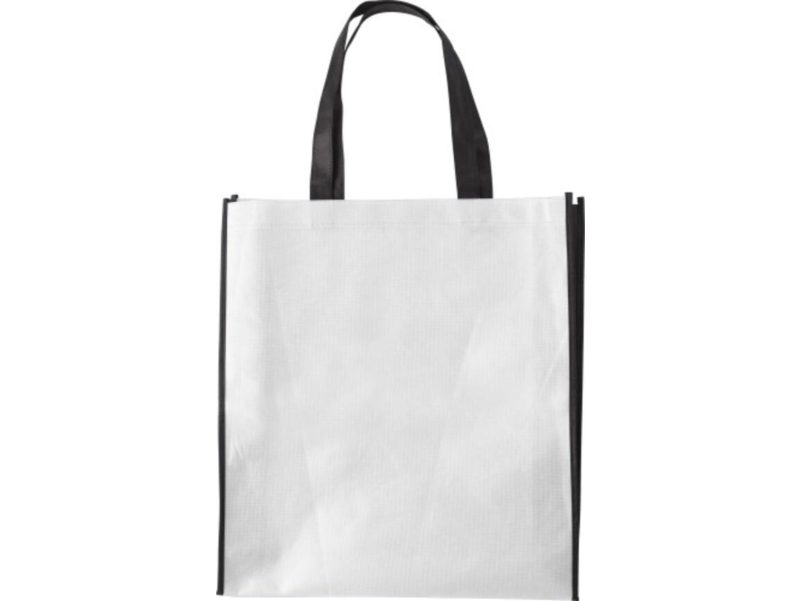 Einkaufstasche 'Zürich' aus Non-Woven – Weiß bedrucken, Art.-Nr. 002999999_0972