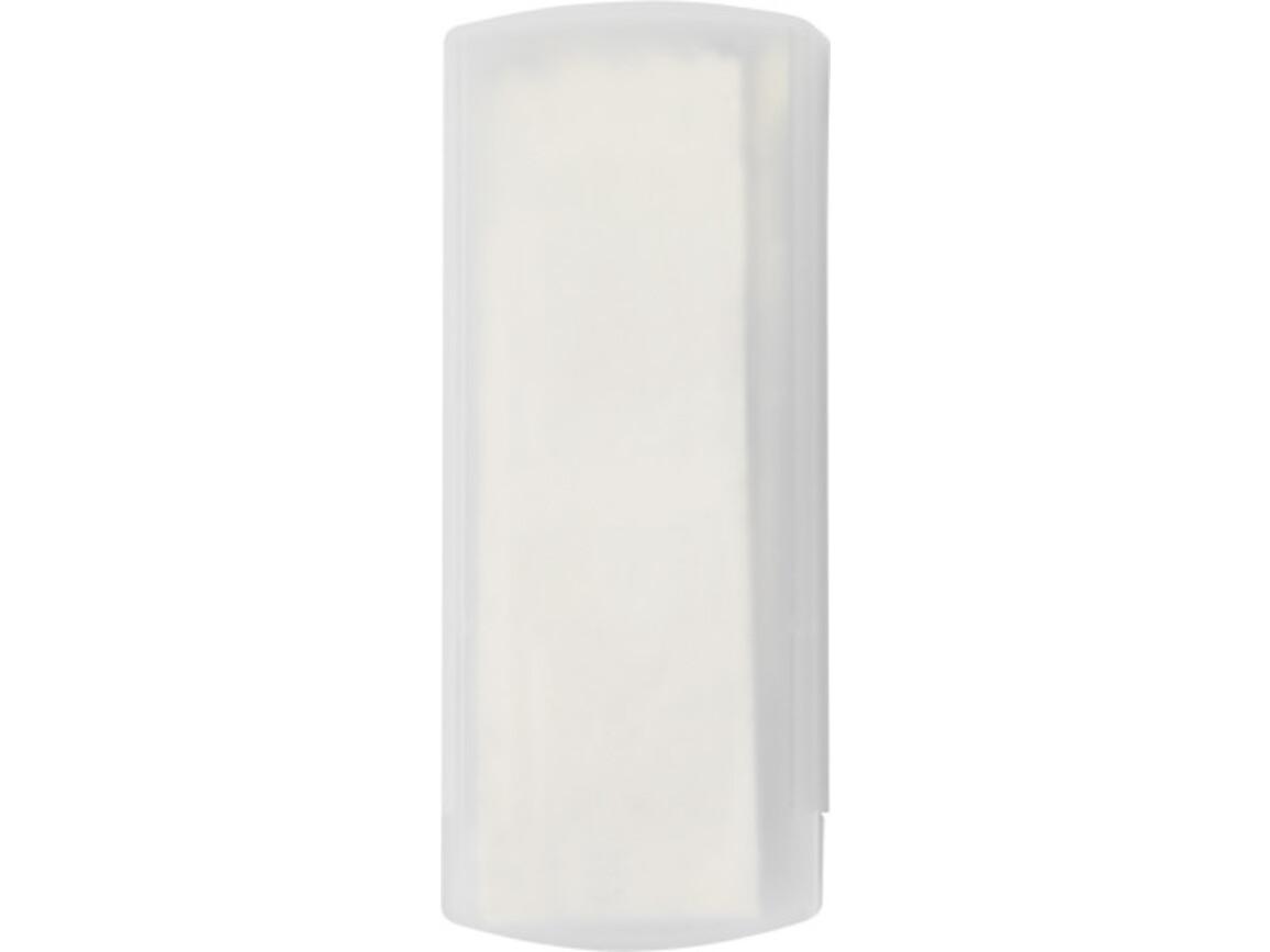 Pflasterbox 'Pocket' aus Kunststoff – Weiß bedrucken, Art.-Nr. 002999999_1020