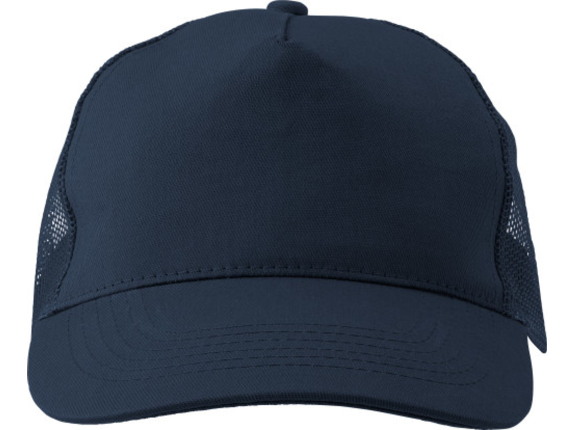 Baseball-Cap 'Sunshine' aus Baumwolle – Blau bedrucken, Art.-Nr. 005999999_1447