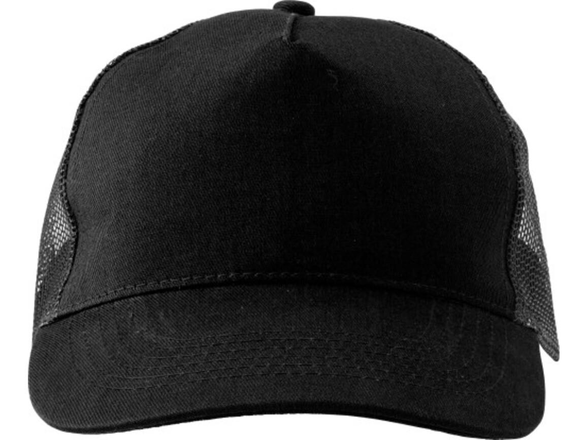 Baseball-Cap 'Sunshine' aus Baumwolle – Schwarz bedrucken, Art.-Nr. 001999999_1447