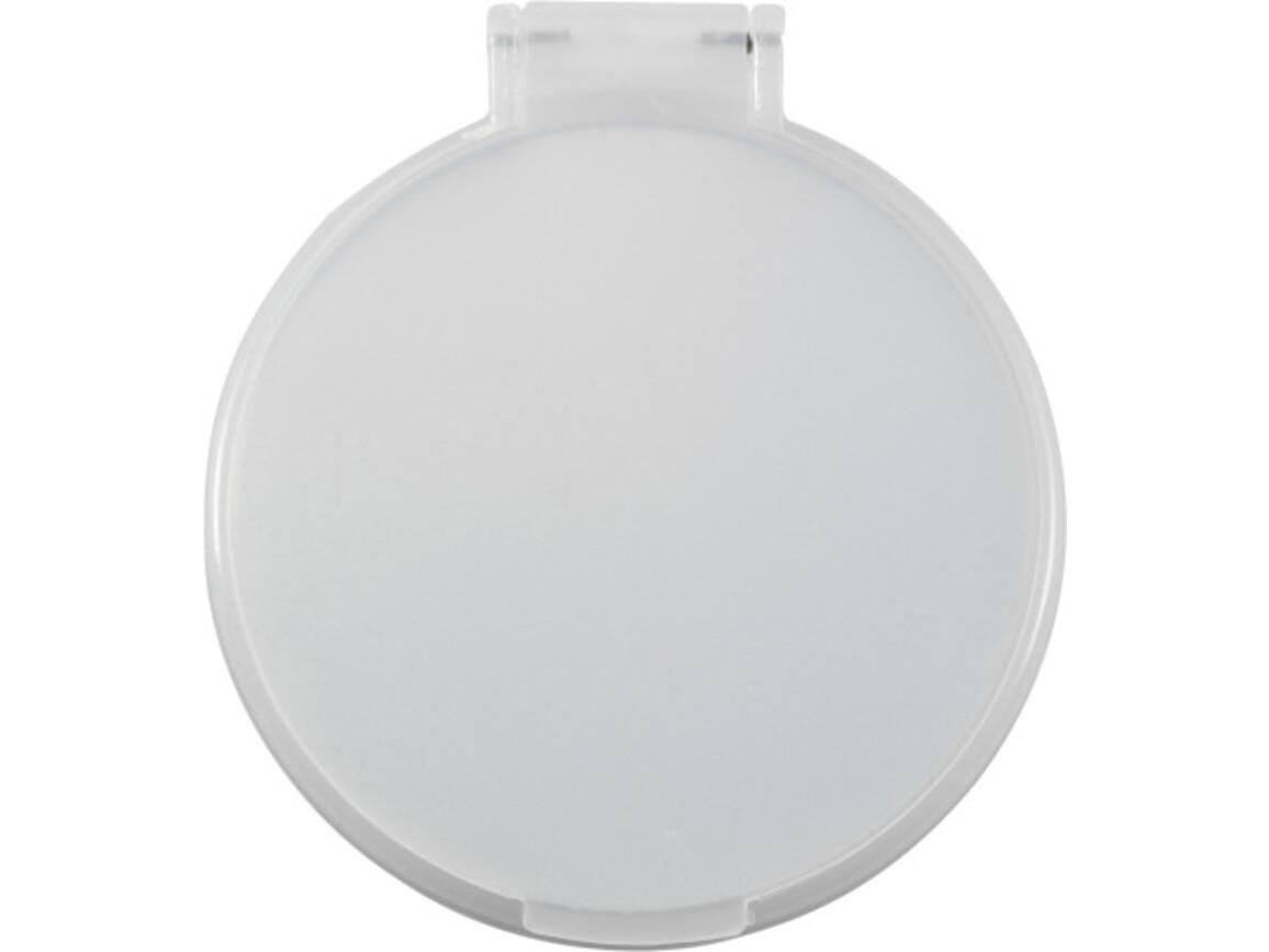 Kosmetikspiegel 'Pocket' aus Kunststoff – Weiß bedrucken, Art.-Nr. 002999999_1658