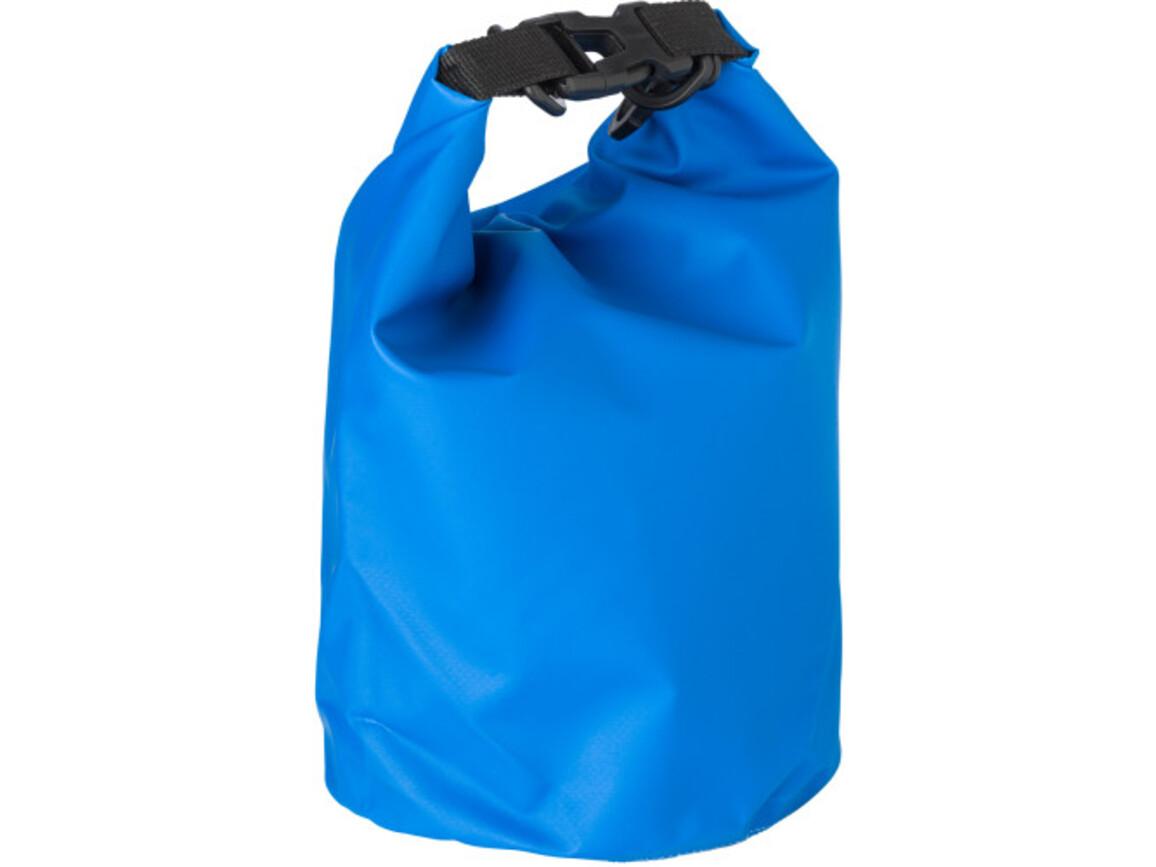 Strandtasche 'River' aus PVC – Blau bedrucken, Art.-Nr. 005999999_1877