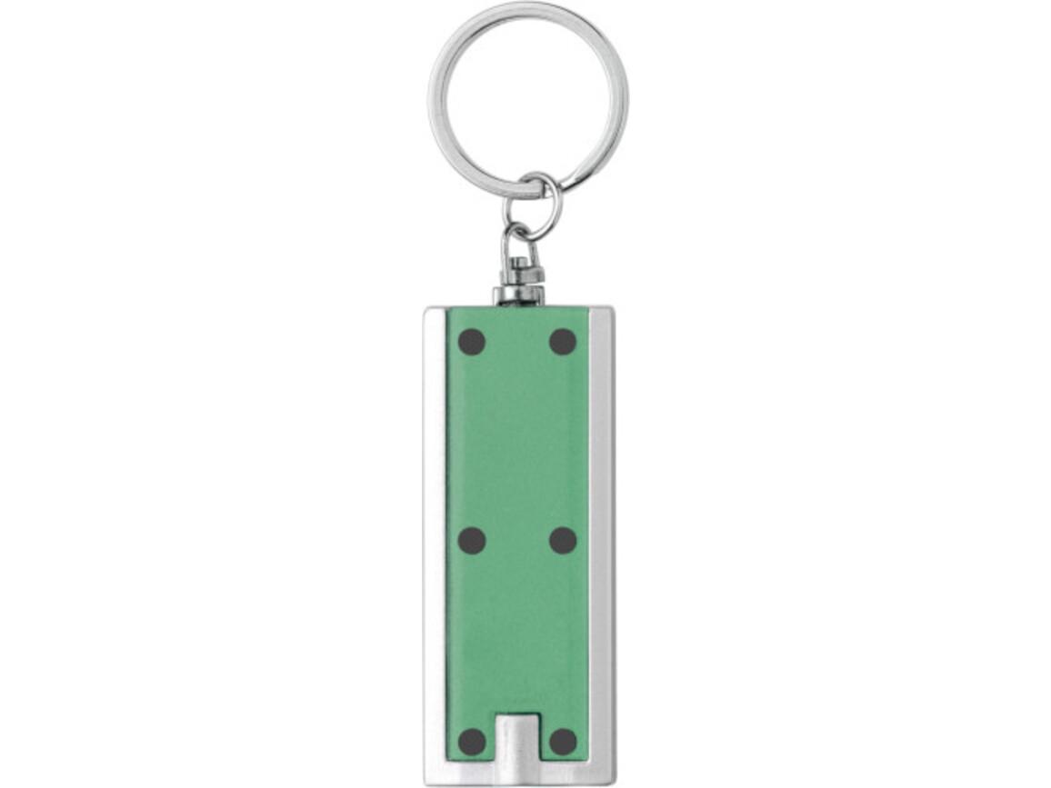 Schlüsselanhänger 'Key Largo' aus Kunststoff – Grün bedrucken, Art.-Nr. 004999999_1992