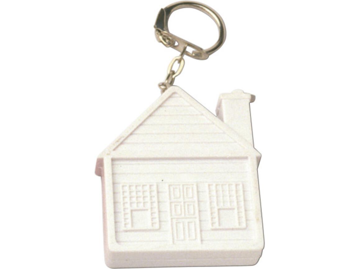 Maßband 'Pocket' aus Kunststoff – Weiß bedrucken, Art.-Nr. 002999999_2130