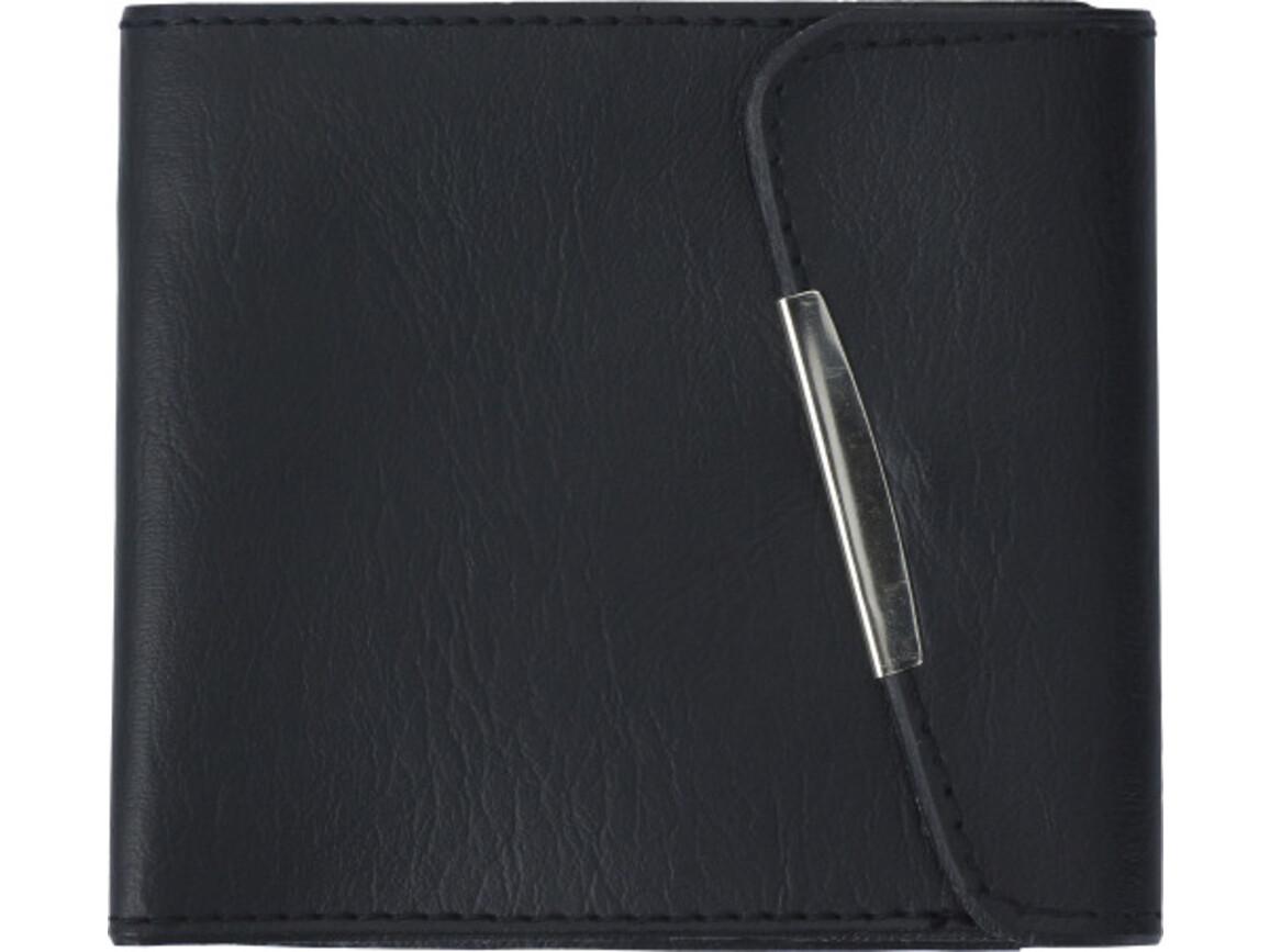 Geldbörse 'Compact' aus PVC – Schwarz bedrucken, Art.-Nr. 001999999_2749
