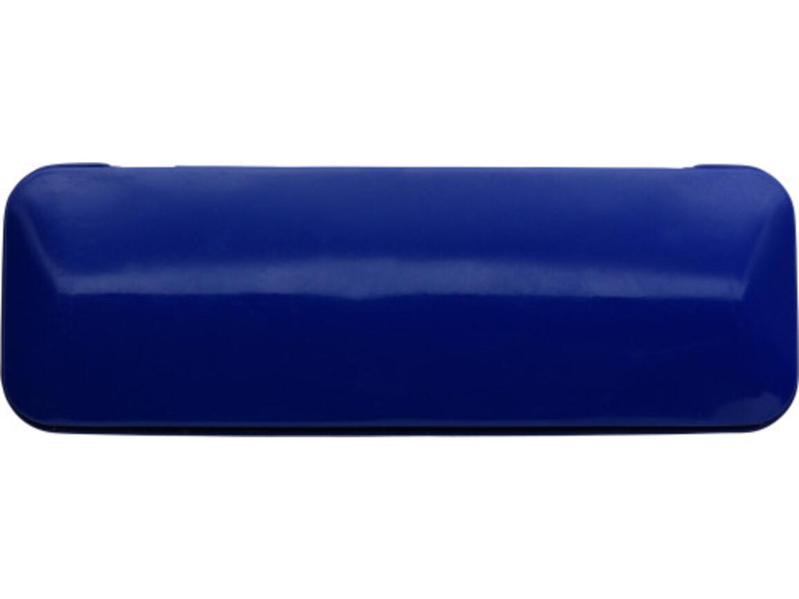 Schreibset 'Colour-Line' aus Aluminium/Metall – Kobaltblau bedrucken, Art.-Nr. 023999999_3298