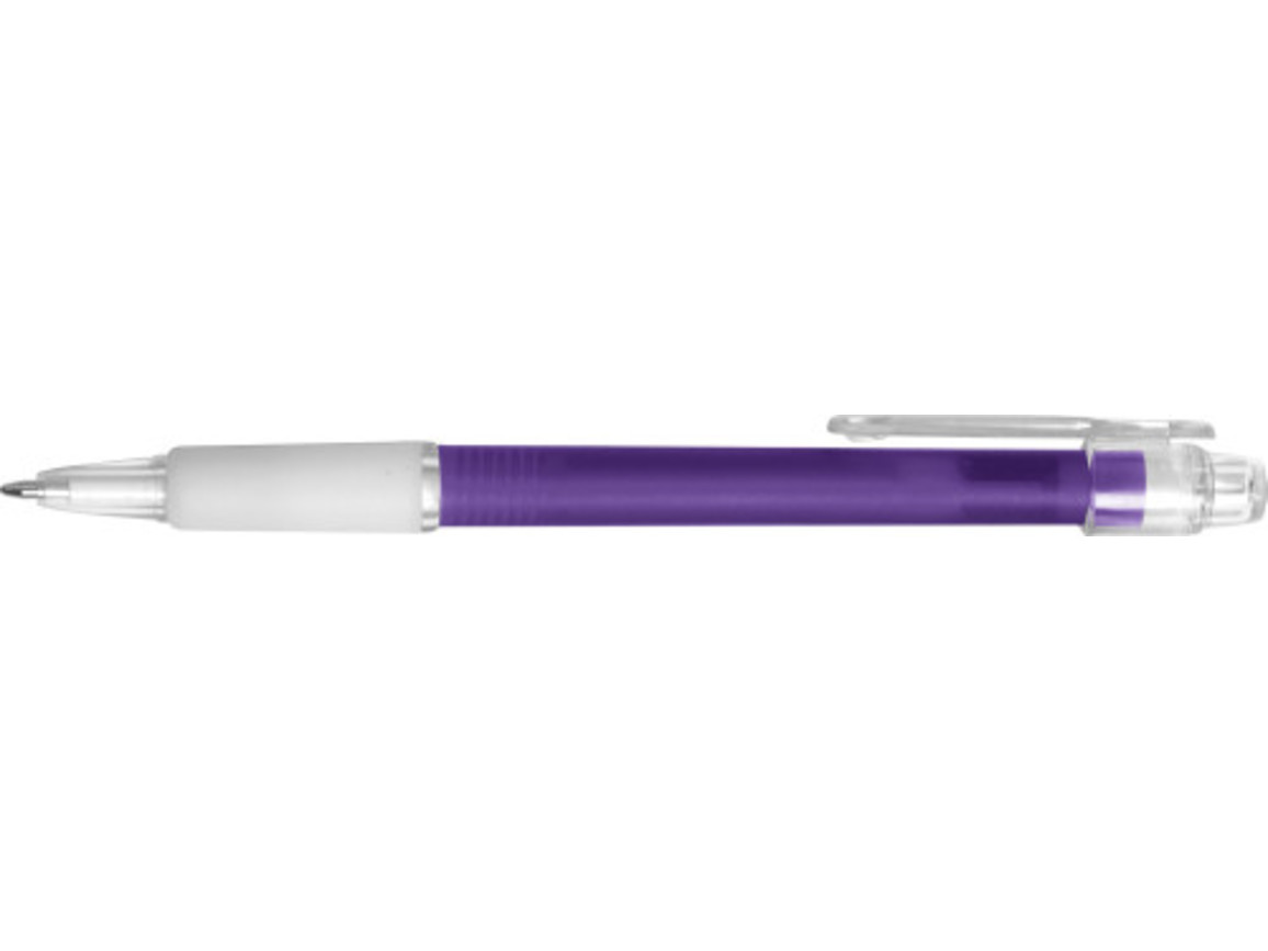Kugelschreiber 'Carmen' aus Kunststoff – Violett bedrucken, Art.-Nr. 024999999_3321