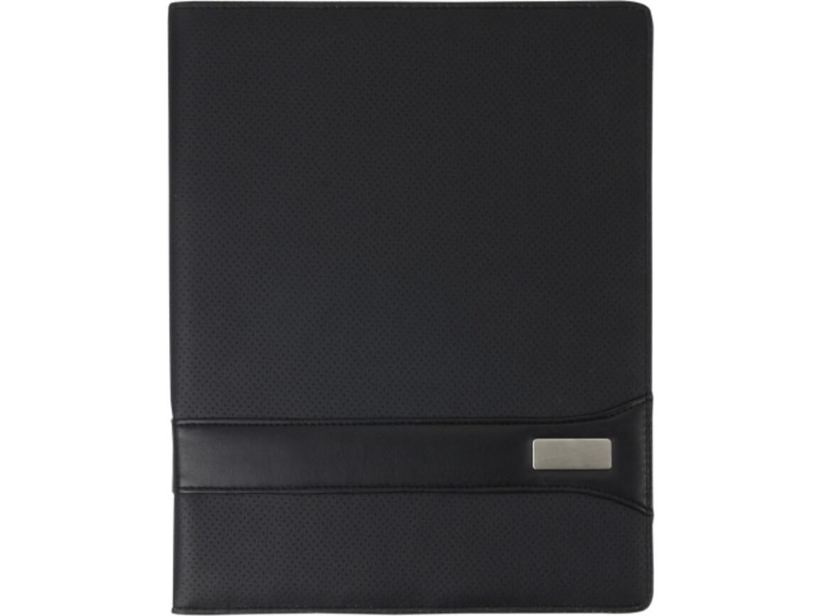Konferenzmappe 'Lifestyle' aus PVC – Schwarz bedrucken, Art.-Nr. 001999999_3363