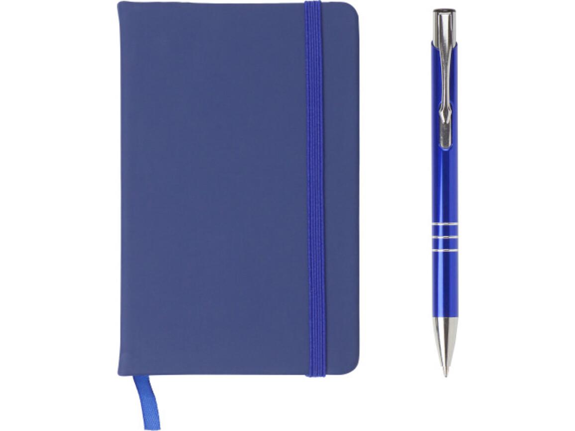 Geschenkset 'Comfort' – Blau bedrucken, Art.-Nr. 005999999_3582