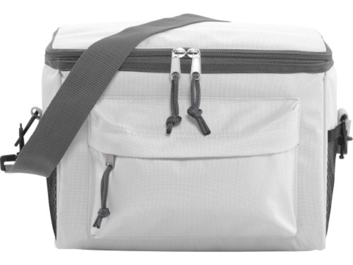 Kühltasche 'Norway' aus Polyester – Weiß bedrucken, Art.-Nr. 002999999_3637