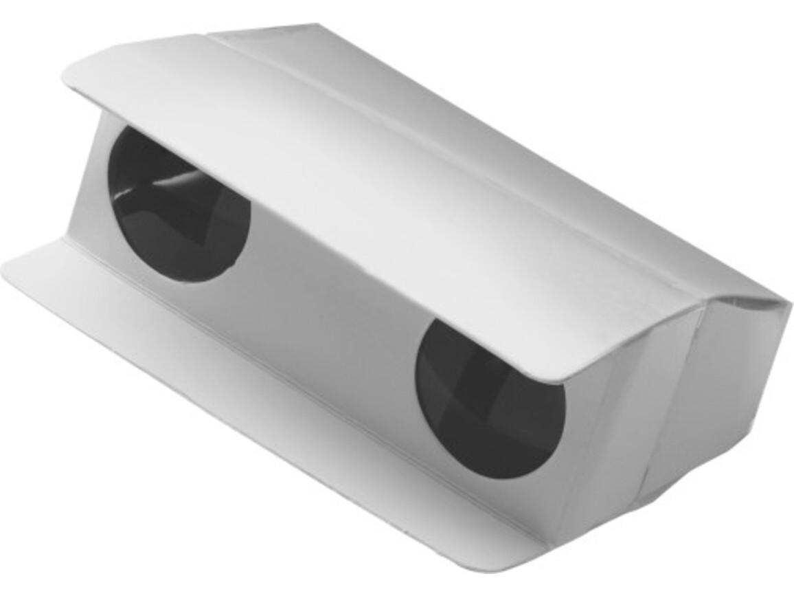 Fernglas 'Pocket' aus Pappe – Weiß bedrucken, Art.-Nr. 002999999_3859