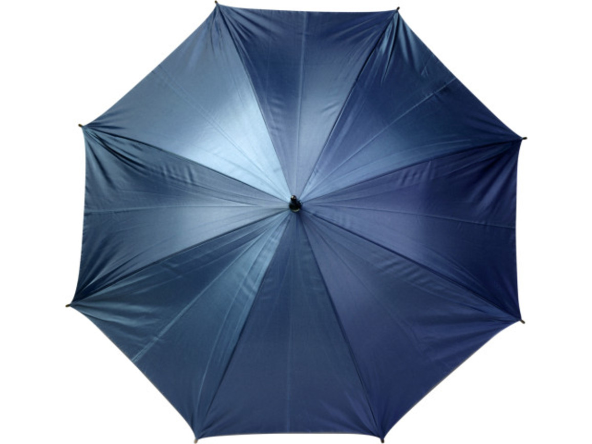 Automatik Stockschirm 'Jacob' aus Polyester – Blau bedrucken, Art.-Nr. 005999999_4011