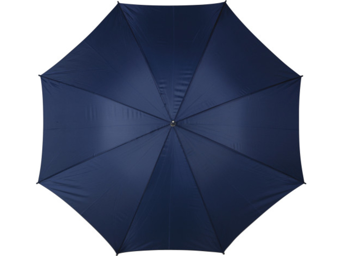 Portierschirm 'Harry' aus Polyester – Blau bedrucken, Art.-Nr. 005999999_4066
