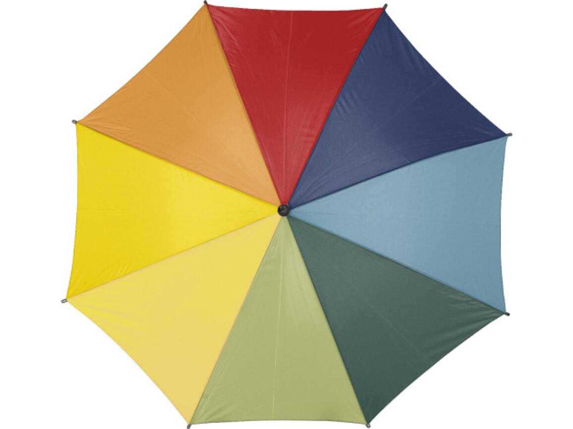 Automatik Stockschirm 'Square' aus Polyester – custom/multicolor bedrucken, Art.-Nr. 009999999_4070