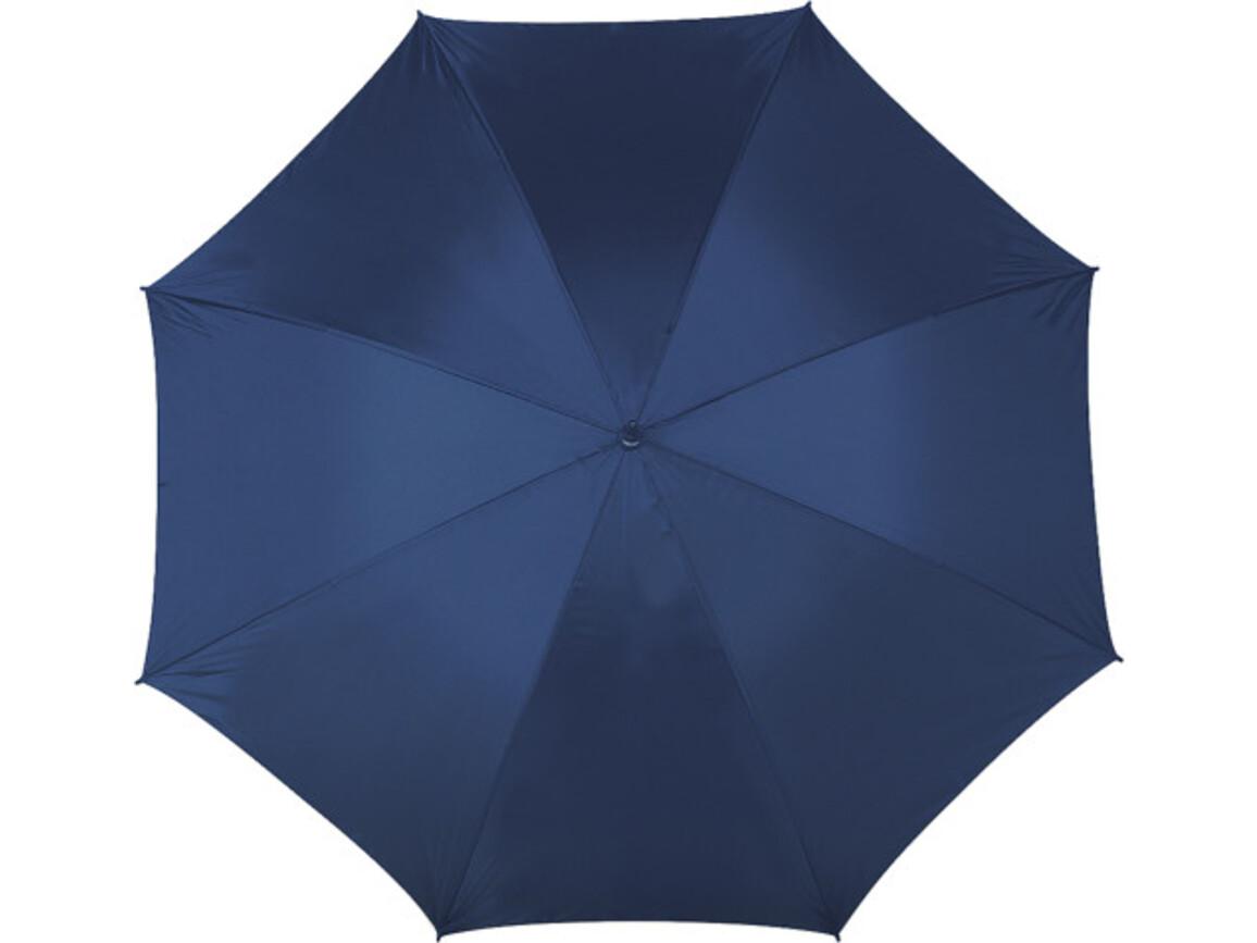 Portierschirm 'Jack' aus Polyester – Blau bedrucken, Art.-Nr. 005999999_4087