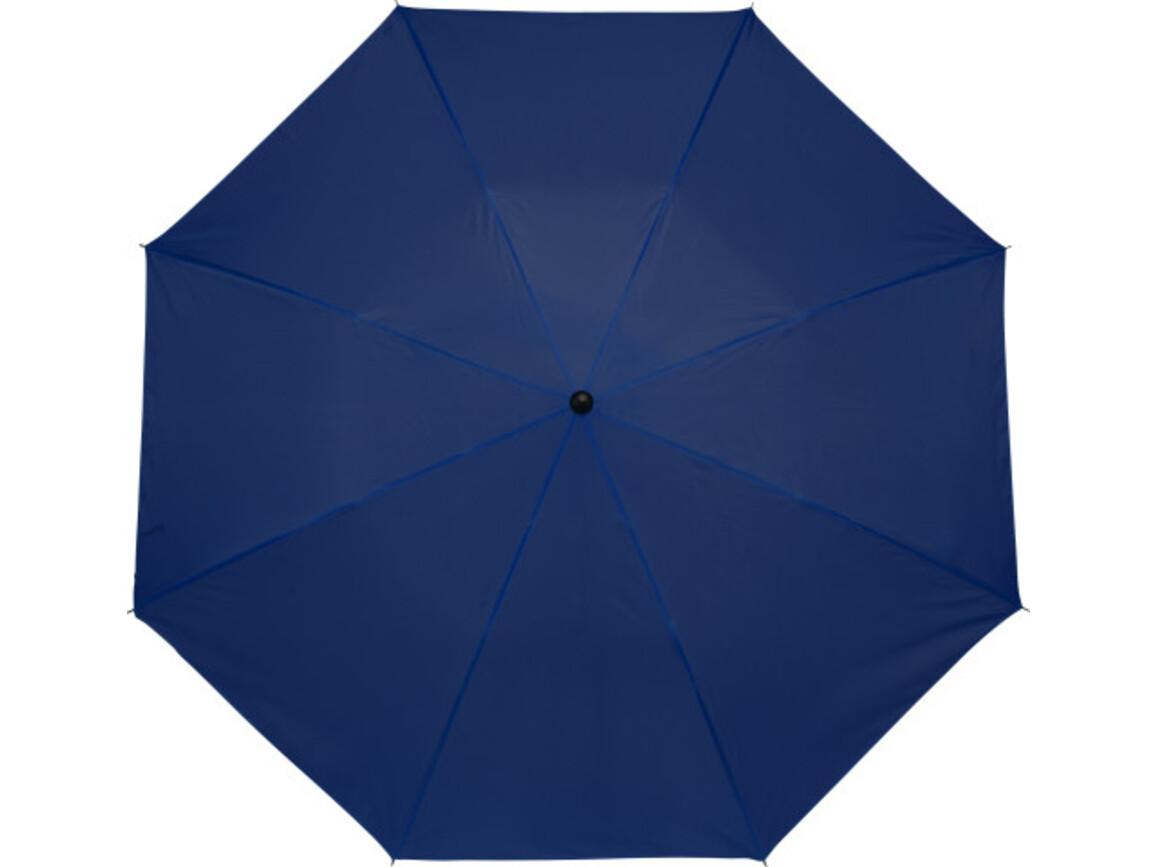 Taschenschirm 'Classic' aus Polyester – Blau bedrucken, Art.-Nr. 005999999_4092