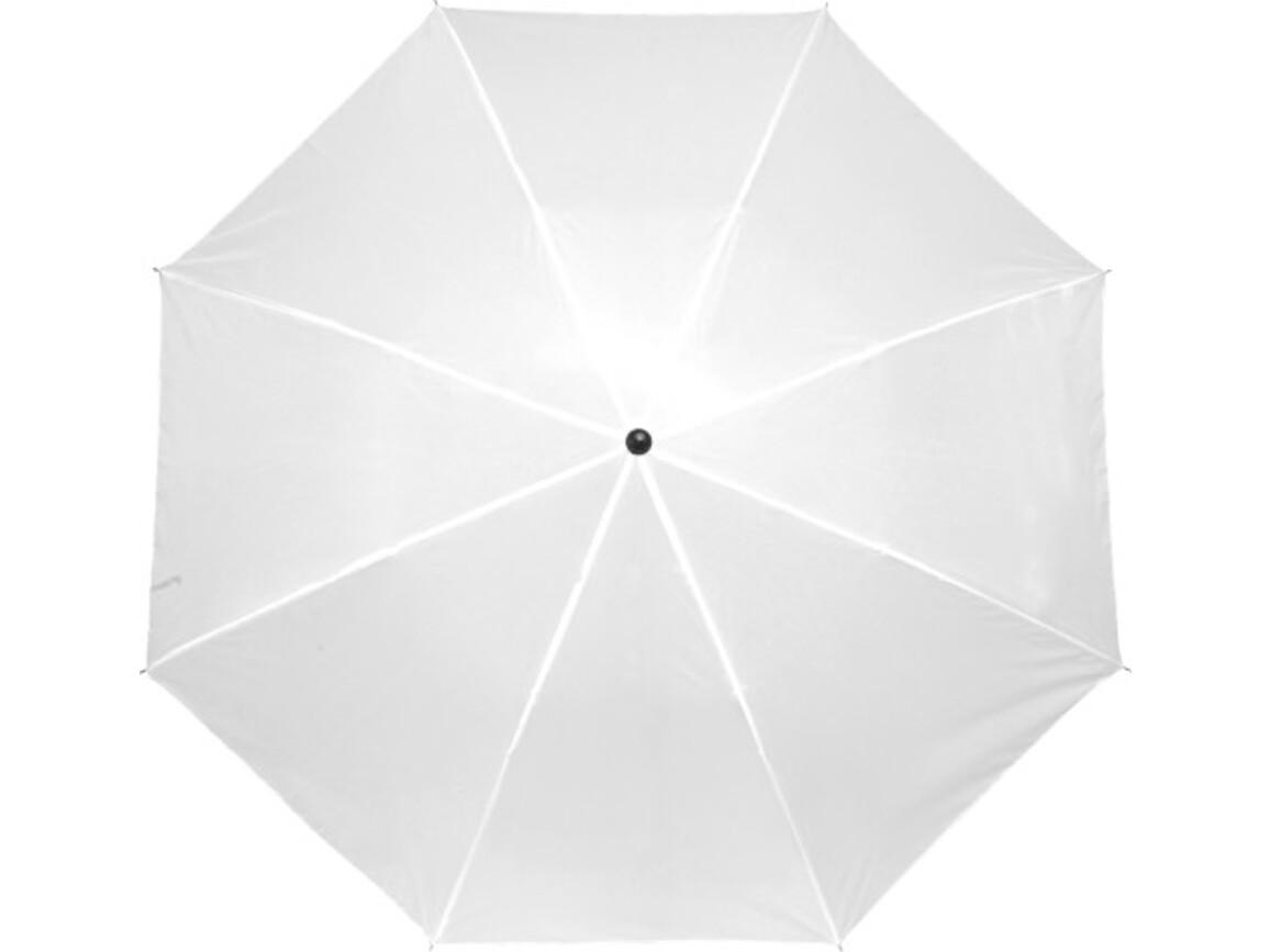 Taschenschirm 'Classic' aus Polyester – Weiß bedrucken, Art.-Nr. 002999999_4092