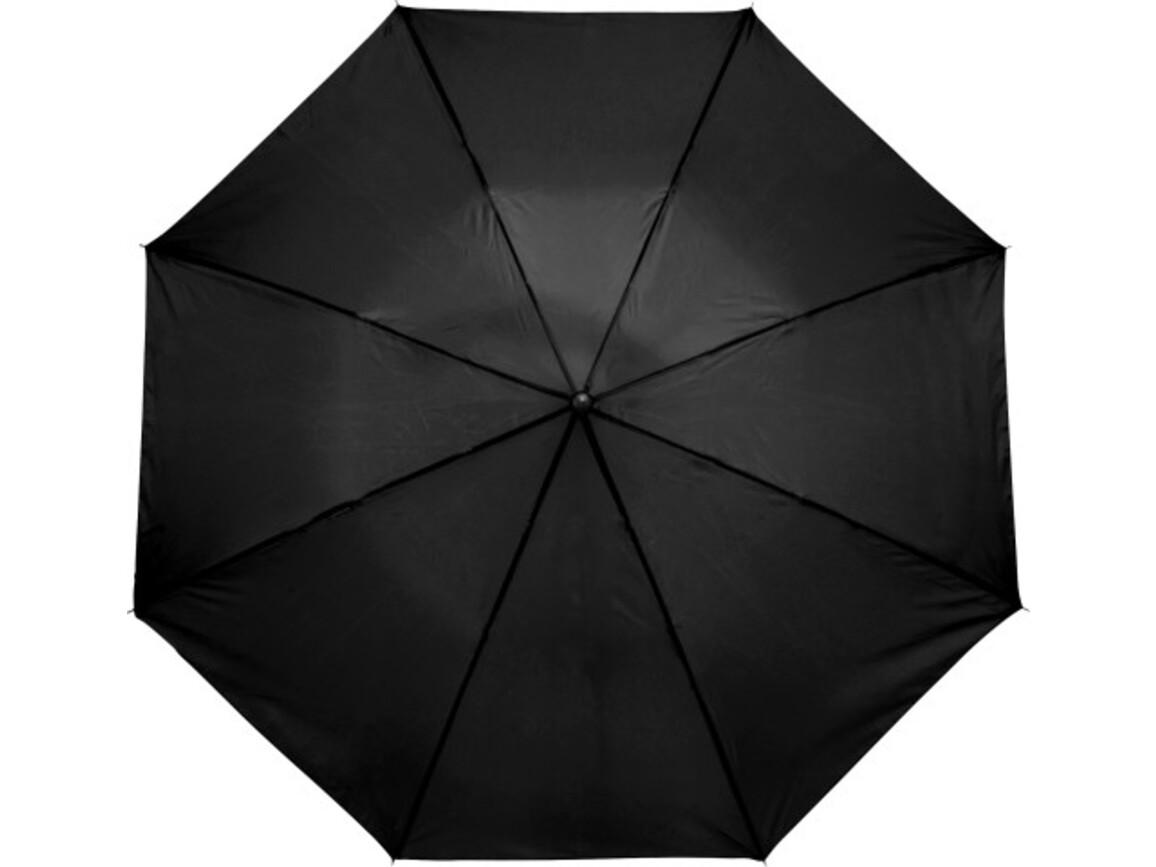 Taschenschirm 'Classic' aus Polyester – Schwarz bedrucken, Art.-Nr. 001999999_4092