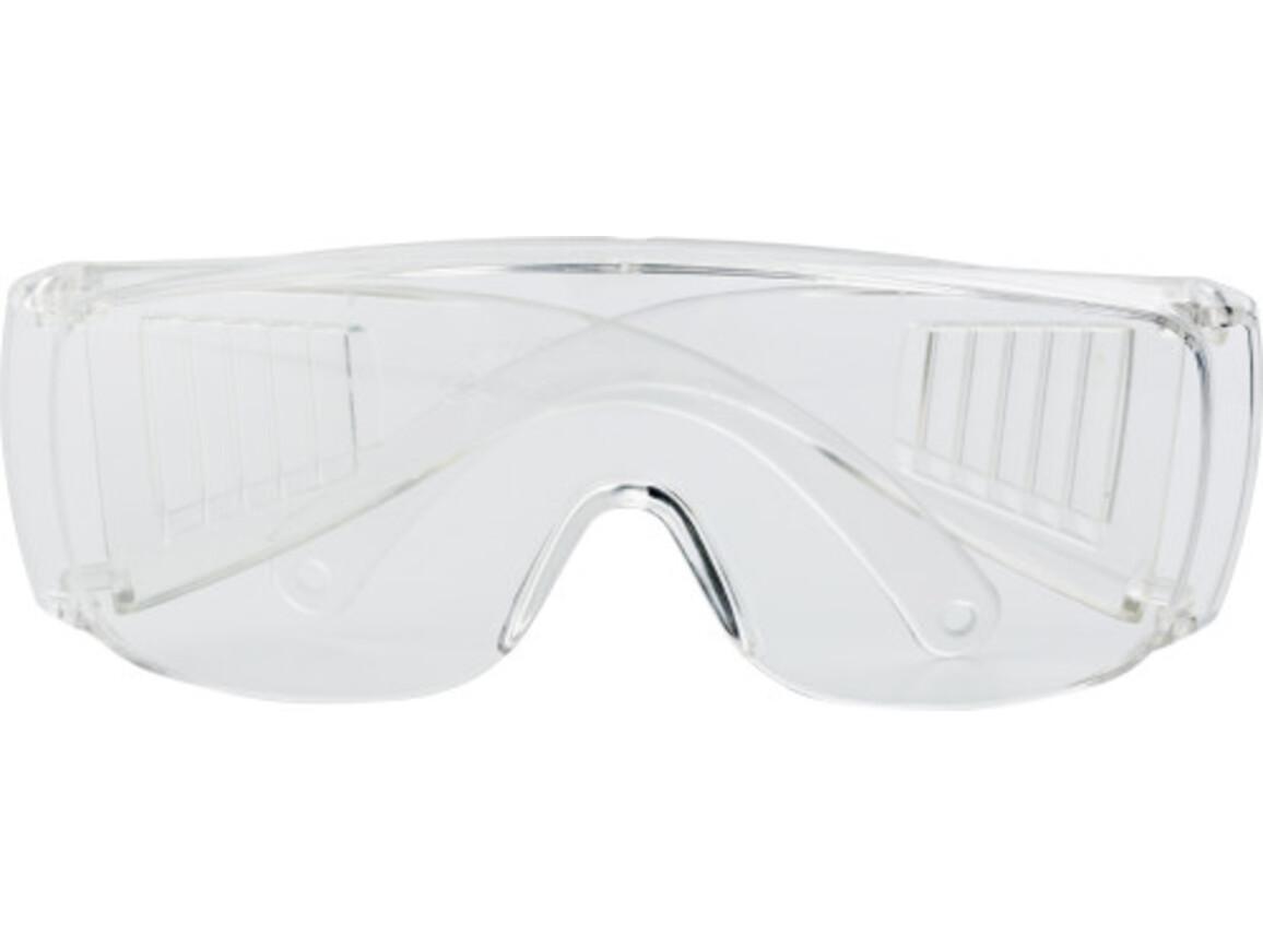 Schutzbrille 'Heat' aus Kunststoff – Neutral bedrucken, Art.-Nr. 021999999_4235